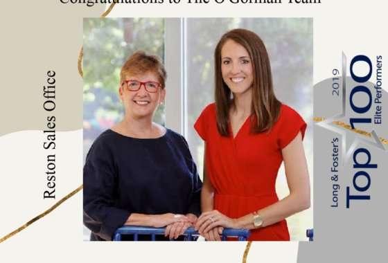 The O'Gorman Team named Long & Foster Top 100